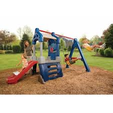 Backyard Swing Sets Canada Little Tikes Clubhouse Swing Set