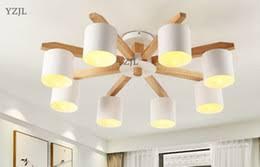 Japanese Chandeliers Discount Modern Wood Lighting Chandeliers 2018 Modern Wood