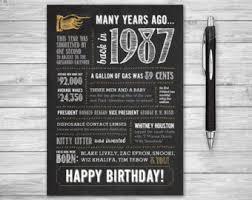 1987 birthday card etsy