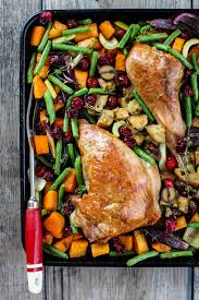 sheet pan turkey dinner simple bites