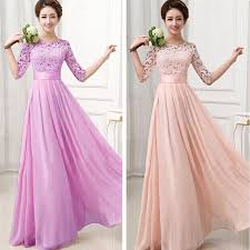 Wedding Maxi Dresses Online Buy Wholesale Long Bridesmaid Dress Sleeves From China Long