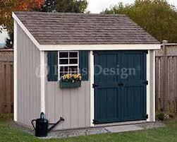 4 u0027 x 10 u0027 storage utility garden shed building plans design
