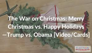 war on merry vs happy holidays vs