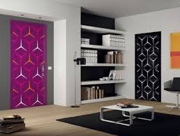 interior unique interior doors designs with built in bookshelf