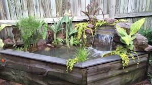 exterior indoor water garden ideas water garden ideas for
