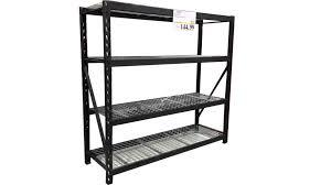 shelves astounding costco industrial rack whalen heavy duty