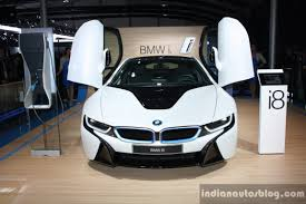 Bmw I8 Front - bmw i8 the hybrid sports car has arrived on indian shores gtspirit