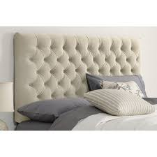 buy tufted upholstered headboard color regal antique white size