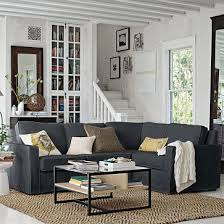 charcoal sectional sofa love the jute rug with the charcoal sectional i want to do