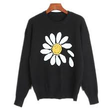 3d sweater runway sweater embroidered flower 3d sweater fashion