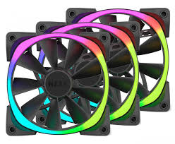 120mm rgb case fan buy nzxt aer rgb120 120mm rgb case fan triple pack