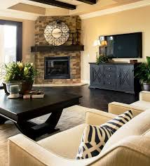 Best  Corner Fireplace Layout Ideas On Pinterest Fireplace - Living room decoration designs