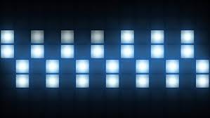 Box For Lights Strobe Lights Vj Blinking Box Lights Bulb Stage Stock
