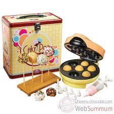 boite metal cuisine simeo appareil à cake pops boîte métal déco cuisine 12488 dans