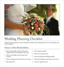 13 wedding planner templates u2013 free sample example format