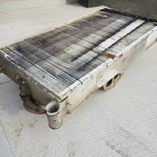 industrial antique factory cart coffee tables toronto home