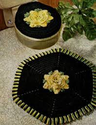 Free Crochet Patterns For Rugs New Rose Bathroom Set Crochet Pattern From Knit U0026 Crochet With