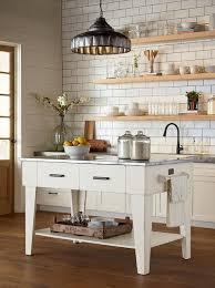 magnolia home kitchen island jo u0027s white farmhouse kitchen
