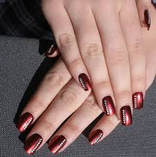 21 amazing burgundy nail designs for women 2017 pretty designs