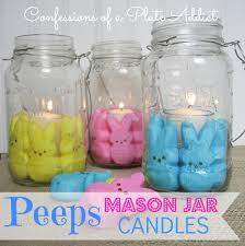 peeps decorations easter my peeps jar candles hometalk