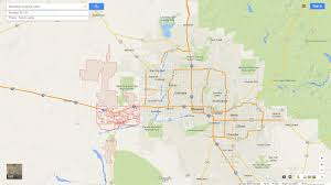 Map Of Arizona Cities by Buckeye Arizona Map