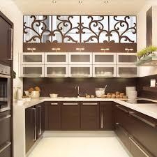 aliexpress com buy flower vine mirror wall stickers kitchen