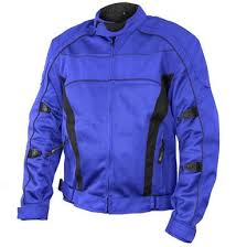 blue motorcycle jacket conquest men s blue black tri tex mesh armored motorcycle jacket