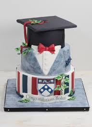 graduation cakes suit and mortarboard graduation cake bakeshop