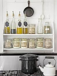 Kitchen Shelf Organization Ideas This Morning Baking Station Kitchens And Organizations