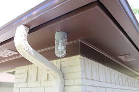 Halogen Outdoor Flood Light Fixture by Installing Outdoor Flood Lights Under Eaves Bocawebcam Com