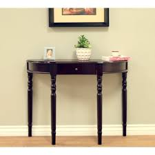 Entryway Console Table Home Craft Entryway Console Table Colors Walmart