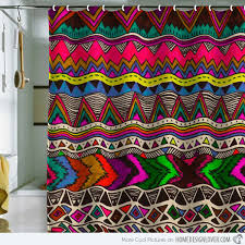 Bright Shower Curtains 15 Bright And Colorful Shower Curtain Designs Home Design Lover