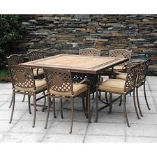 High Patio Dining Set Chateau Patio High Dining Set 9 Pc Sam S Club