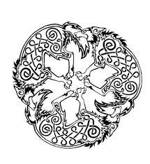 tattoos celtic designs celtic wolf triskele by dawbun deviantart com art i like