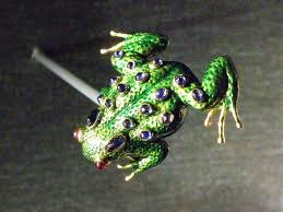 frogville ornamental frogs bejeweled