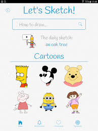 let u0027s sketch learn to draw android apps on google play