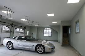 Led Panel Light Fixtures Led Panel Light Fixture 44w 2ft X 2ft 3300 Lumens Garage Ceiling