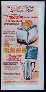 Sunbeam Cafe Series Toaster Toasters Of The 1920s Toasters Stainless Steel And Steel