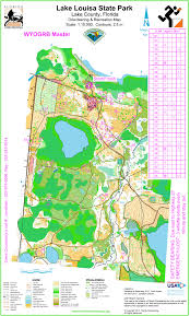 Florida State Parks Map Florida Orienteering Results