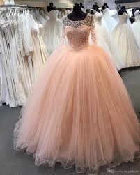 coral quince dress coral quinceanera dresses with sleeves flower cheap