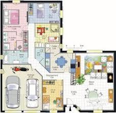 plan de maison 4 chambres avec age maison familiale 4 chambres avec bureau terrasse garage et cellier