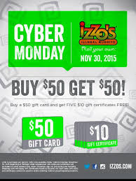 cyber monday gift card deals restaurant brands and cyber monday the kitchen olo