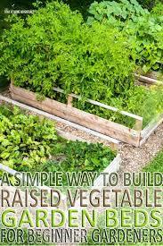 raised vegetable garden beds on a slope raised vegetable garden
