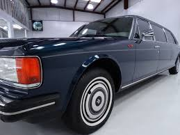 rolls royce silver spur 1986 rolls royce silver spur limousine notoriousluxury