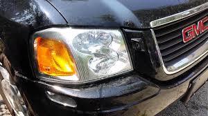 2005 gmc envoy headlight washers youtube