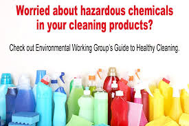 Toxicity Of Household Products by Online Database Tells You If The Cleaning Products You Bring In