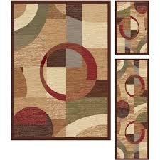 3 piece set tan u0026 red area rug elegance rc willey furniture store