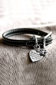 never leave my heart remembrance bracelet bracelets and leather