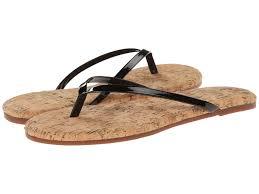yosi samra roee two tone flip flop w patent leather strap u0026 cork