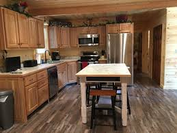 Handicap Accessible Kitchen Cabinets Way To Go Cabins Hocking Hills Cottages And Cabins